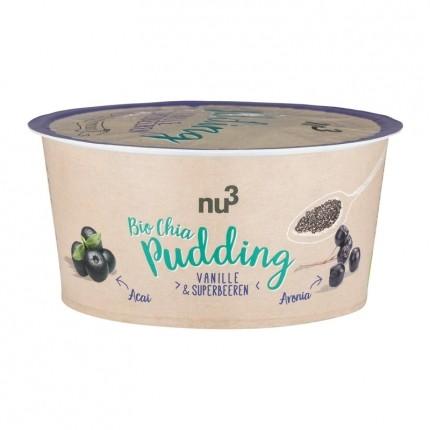 nu3 Organic chia pudding, vanilla & super berries