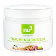 nu3 Traubenkernmehl Bio