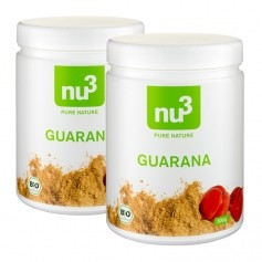 2 x nu3 Organic Guarana powder