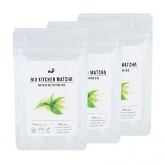 3 x nu3 Organic Cooking Matcha Powder