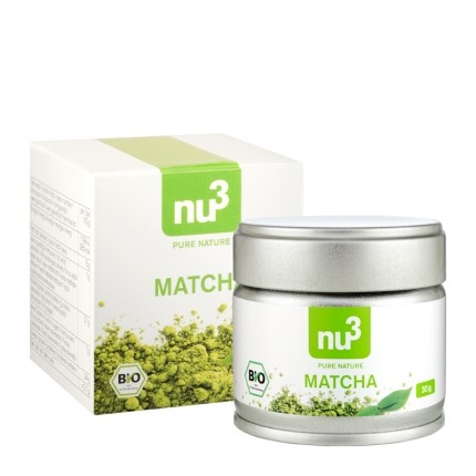 nu3 Organic Matcha Tea Powder