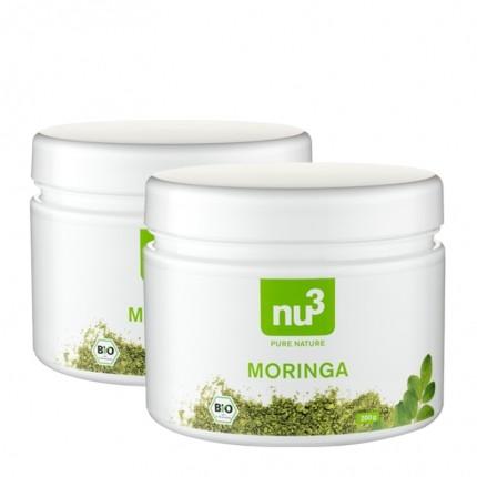 2 x nu3 Organic Moringa powder