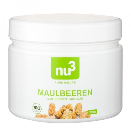 2 x nu3 Organic Mulberries