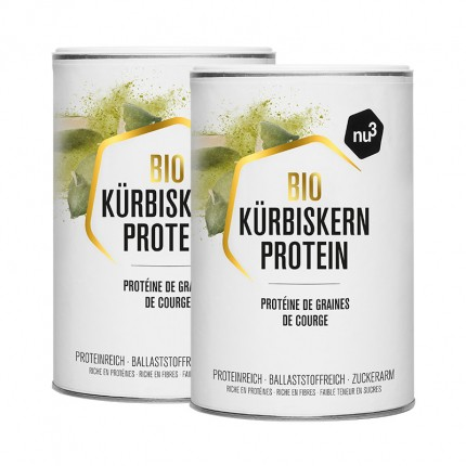 2 x nu3 Organic Pumpkin Seed Protein, powder