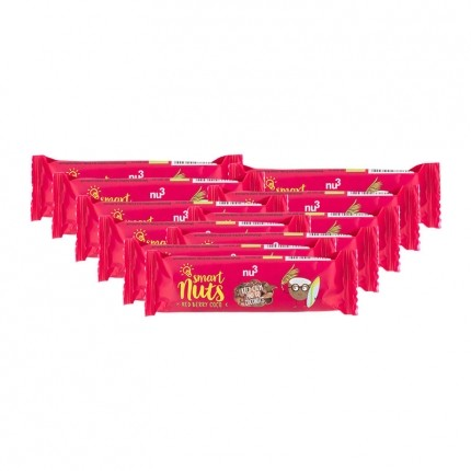 10 x nu3 Organic Red Berry Coco Bar