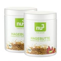 2 x nu3 Organic Rosehip powder