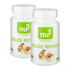 2 x nu3 Organic Royal Jelly, capsules