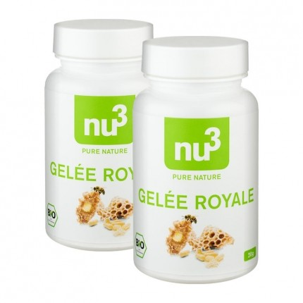 2 x nu3 Organic Royal Jelly, capsules