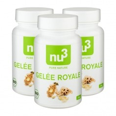 3 x nu3 Organic Royal Jelly, capsules