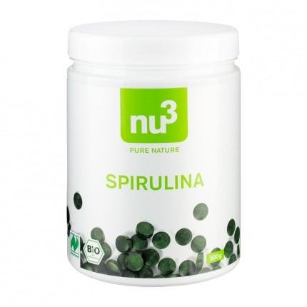 nu3 Organic Spirulina Compacts