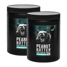 2 x nu3 Peanut Butter -maapähkinävoi