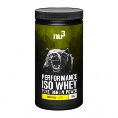 nu3 Performance Iso Whey, Tropical, Pulver