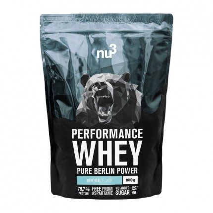 nu3 Performance Whey, Neutral, Pulver