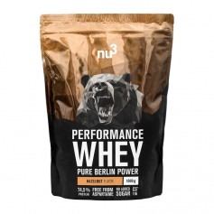 nu3 Performance Whey, Haselnuss, Pulver