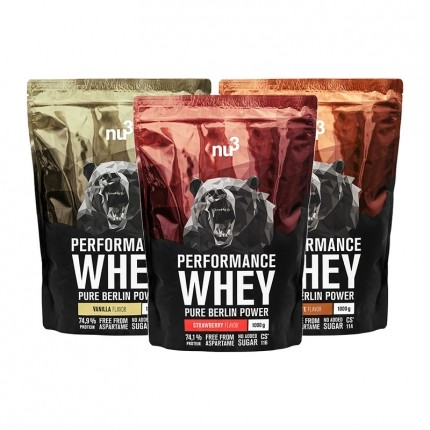 Performance Whey Classic Trio, Pulver