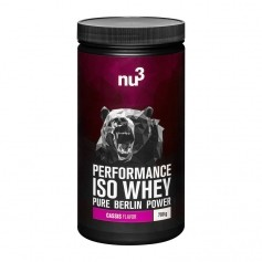 nu3 Performance Iso Whey, Cassis, Pulver