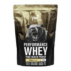 nu3 Performance Whey Vanilla, Pulver