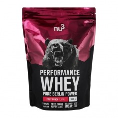 nu3 Performance Whey Wildberry, Pulver