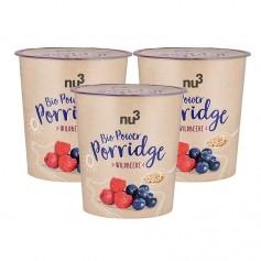 nu3, Porridge power bio, baies sauvages