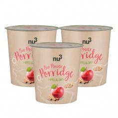 nu3, Porridge power bio, pomme & cannelle