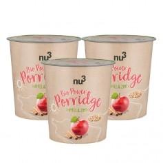 nu3, Porridge power bio, pomme & cannelle