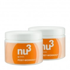 2 x nu3 Post-Workout Powder
