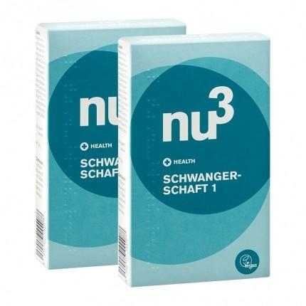 2 x nu3 Pregnancy 1 - vegan capsules