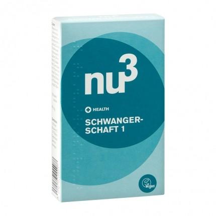 3 x nu3 Pregnancy 1 - vegan capsules