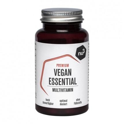 nu3 Premium Vegan Essential Multivitamin