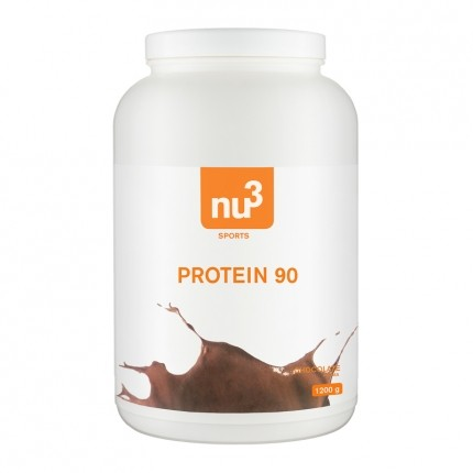 3 x nu3 Protein 90 Chocolate Powder