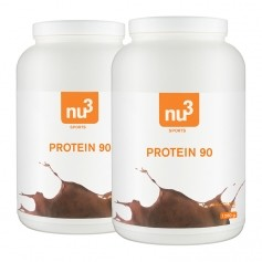 2 x nu3 Protein 90 Chokolade, Pulver