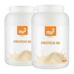 2 x nu3 Protein 90 -jauhe, vanilja