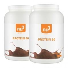 2 x nu3 Protein 90 sjokolade, pulver