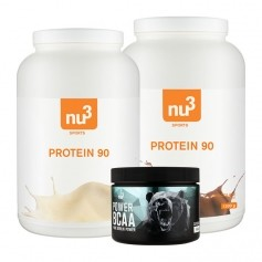 nu3 Protein 90 Vanilla and Chocolate + NU3 power BCAA