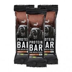 3 x nu3 Protein Bar 40%, chokolade