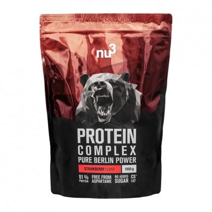 nu3 Protein Complex, Pulver, Erdbeere