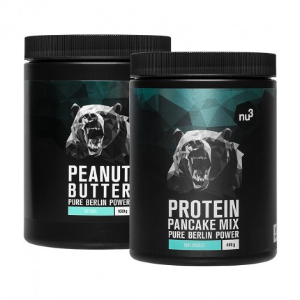 nu3 Erdnussbutter + Protein Pancake Mix