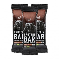 3 x nu3 Proteinbar 40%, sjokolade
