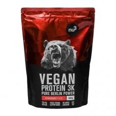 nu3 Protéines Vegan 3K, Fraise, poudre
