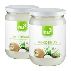 nu3, Mousse de noix de coco, lot de 2