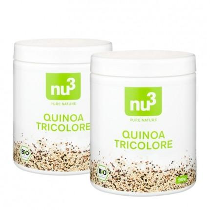nu3, Quinoa bio, lot de 2