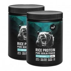 2 x nu3 rice protein powder