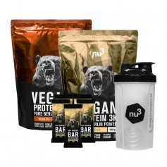 nu3 Vegan Mass Gain Pack