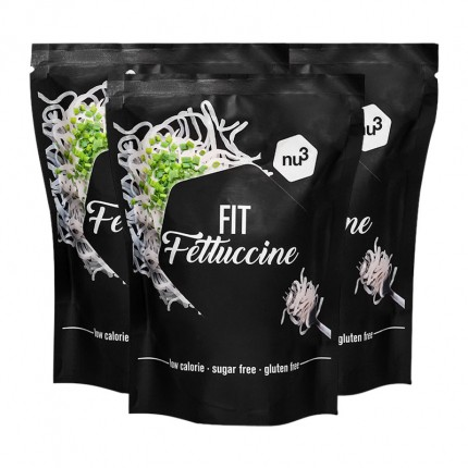 nu3, Fettuccine low-carb, lot de 3