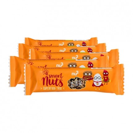 nu3, Superfood trio bio, barres, lot de 5