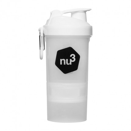 Layenberger LowCarb.one 3K Proteinshake sjoko-kaffe + nu3 SmartShake
