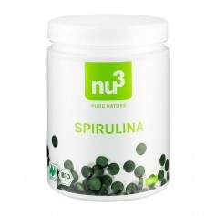 nu3 Bio Spirulina, Presslinge