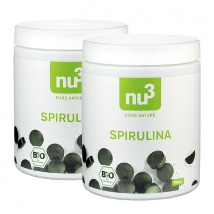 nu3, Spiruline bio, comprimés, lot de 2