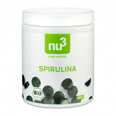 nu3 Bio Spirulina, Tabletten