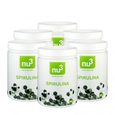 nu3, Spiruline bio, comprimés